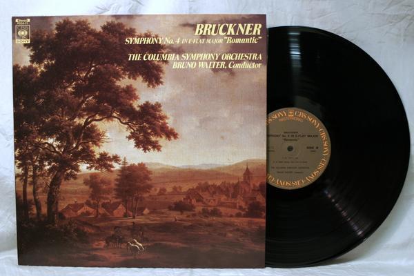 中古LP「ブルックナー 交響曲第4番 ロマンティック」ブルーノ・ワルター/コロンビア響_画像1