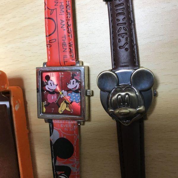 送料無料 ディズニー Mickey ミッキー 時計 腕時計 ウォッチ ネックレス レア まとめ パラダイス island harmony paradise y934 q1-1_画像3