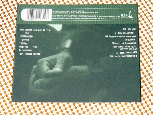 EU盤 Common コモン Like Water For Chocolate / Jay Dee ( J Dilla ) Questlove ( roots ) D'Angelo Jef Lee Johnson 鉄壁布陣参加名盤