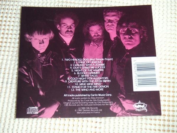 廃盤 Roky Erickson And The Aliens ロッキー エリクソン I Think Of Demons / 13th Floor Elevators フロントマン ソロ US サイケ 重鎮_画像3