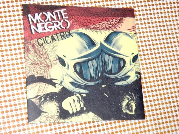 廃盤 Monte Negro モンテネグロ Cicatrix / US ラテン スパニッシュ ロック / at the drive in や killers 好きからspainsh pops 好きまで