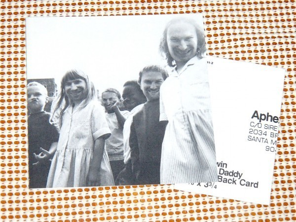 美盤 Aphex Twin エイフェックス ツイン Come To Daddy / sire : WARP / AFX Caustic Window 別名儀/ 美メロと激烈ビートが融合した傑作