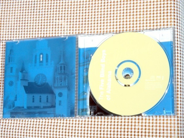廃盤 Five Blind Boys Of Alabama 5 ブラインド ボーイズ オブ アラバマ Hallelujah Finest Recordings 良ベスト / Clarence Fountain