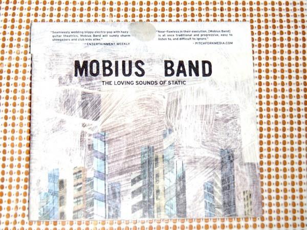 美品 廃盤 Mobius Band モービアス バンド The Loving Sounds Of Static / Ghostly International / M83 New order にも通ずる 電子BAND