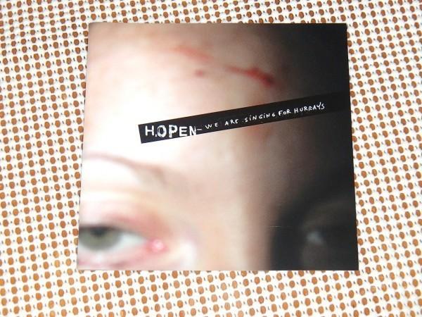 廃盤 Hopen We Are Singing For Hurrays / Arbouse / Childe Grangier 変名 Nathan Jonson との STARTING TEETH でも活躍/ 仏 爆裂 IDM