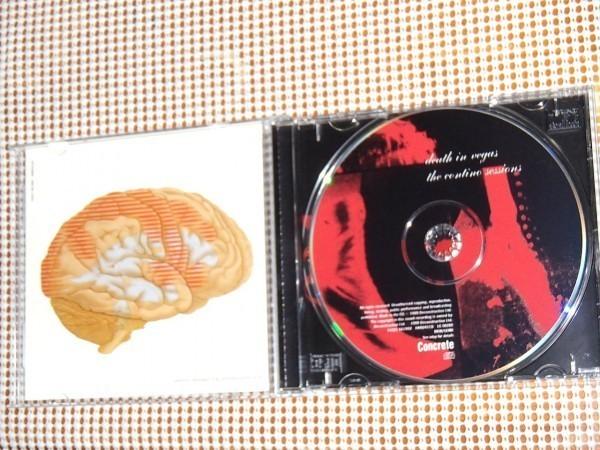 廃盤 Death In Vegas デスインヴェガス Contino Sessions/ Iggy Pop bobby gillespie ( Primal Scream ) jim ( Jesus & Mary Chain )参加