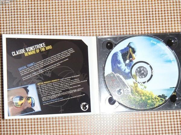 廃盤 Claude VonStroke クラウド ボンストローク Beware Of The Bird / DEEP THROAT 収録 クリック ~ ミニマル ~ テックハウス 名作