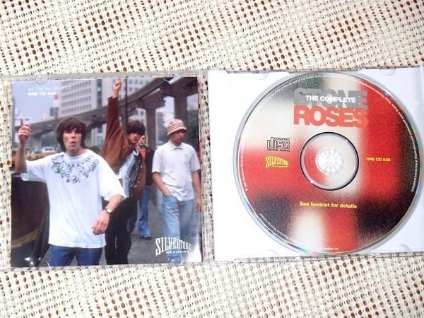 The Complete Stone Roses ストーン ローゼズ / Silvertone / 入門にも最適 21曲収録 良ベスト Ian Brown John Squire Reni Gary 在籍