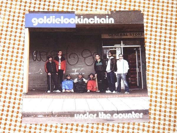 廃盤 Goldie Lookin Chain ゴールディールッキンチェイン Under The Counter /UK HIPHOP Leon West ( Fleapit )在籍 beastie boys 好きに