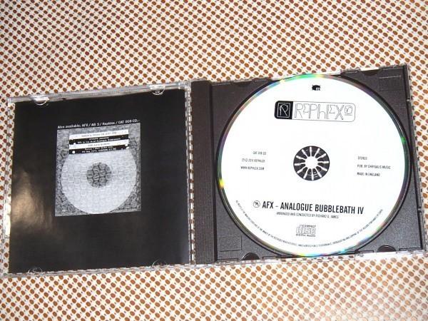 廃盤 AFX Analogue Bubblebath 4 / Rephlex / Aphex Twin エイフェックス ツイン (THE TUSS / Caustic Window )別名儀/アナログ バブルバス