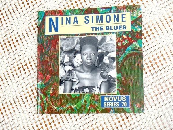 廃盤 Nina Simone ニーナ シモン The Blues / John Snyder 編纂 ブルースものに焦点を絞った良コンピ Novus Series 70 良マスタリング盤