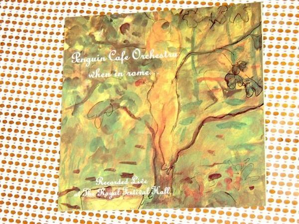 US初出 廃盤 Penguin Cafe Orchestra ペンギン カフェ オーケストラ When In Rome / Editions EG / Simon Jeffes Steve Nye 名ライヴ