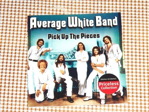 廃盤 Average White Band アヴェレージ ホワイト バンド Pick Up the Pieces /ホワイト ファンク 最高峰/ Queen Of My Soul 等良選曲ベスト_画像1