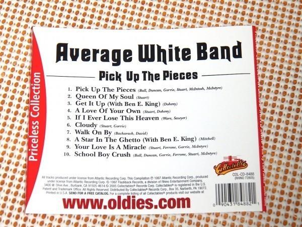 廃盤 Average White Band アヴェレージ ホワイト バンド Pick Up the Pieces /ホワイト ファンク 最高峰/ Queen Of My Soul 等良選曲ベスト_画像3