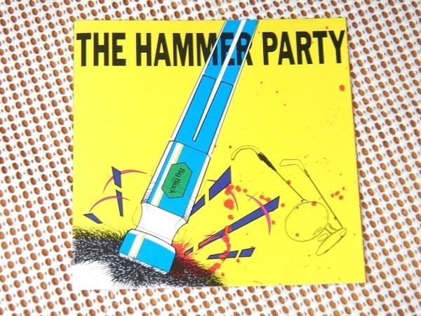 廃盤 Big Black ビッグ ブラック The Hammer Party ( Lungs + Bulldozer + Racer-X )/ Touch And Go / Steve Albini 初期傑作集 アルビニ