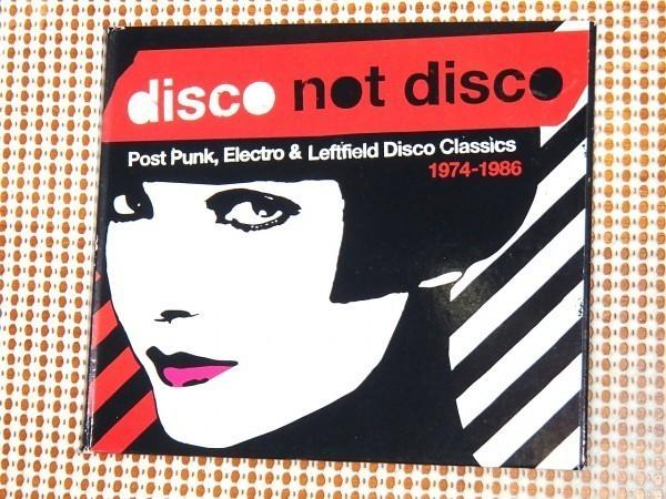 廃盤 Disco Not Disco Post Punk Electro & Leftfield Disco Classics 1974-1986/ strut / Liaisons Dangereuses Konk Maximum Joy Kazino