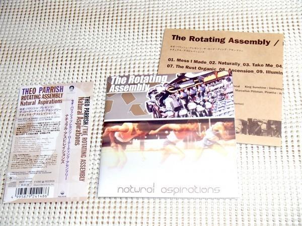 廃盤 The Rotating Assembly Natural Aspirations / Theo Parrish 別名義 Duminie DePorres Hanna Genevieve Marcellus Pittman 等参加