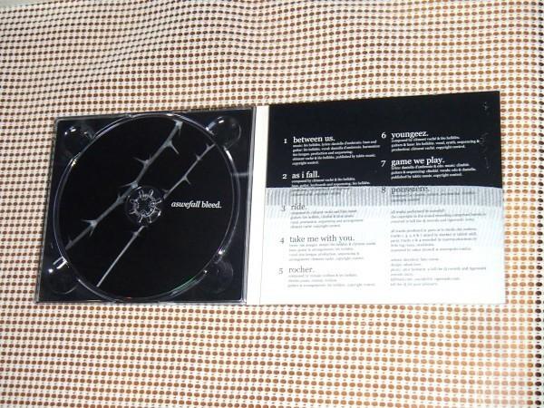 廃盤 Aswefall Bleed / Kill The DJ ( Tigersushi )/ Clement ( Colette 音楽担当)+ Leo Hellden ( slove / Camp Claude )/ Alexkid 参加