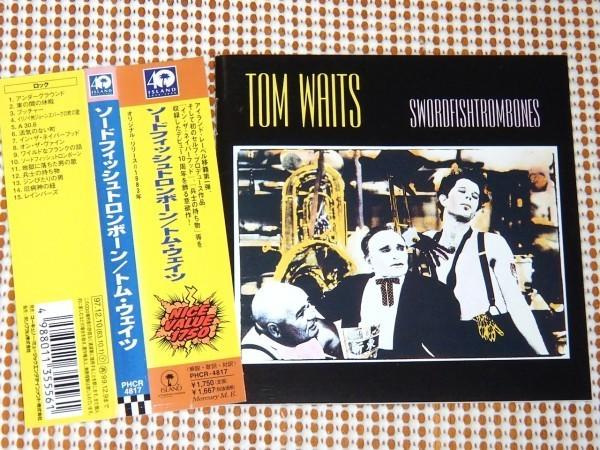 廃盤 Tom Waits トム ウェイツ Swordfishtrombones / 転換期 初作 名盤 / Greg Cohen Larry Taylor Carlos Guitarlos Fred Tackett 参加