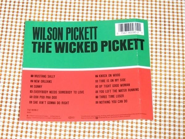 廃盤 Wilson Pickett ウィルソン ピケット The Wicked Pickett / Spooner Oldham Gene Miller Jimmy (Muscle Shoals Rhythm Section)参加