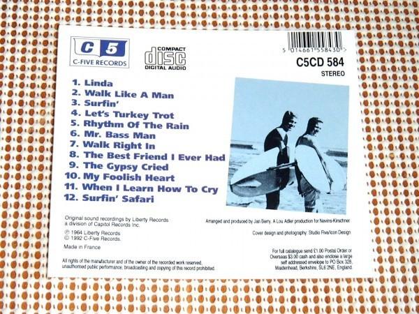廃盤 Jan & Dean Take Linda Surfin' ジャン ディーン BEACH BOYS BRIAN WILSON とも親交の深いデュオ 音も似てます Berry Torrence