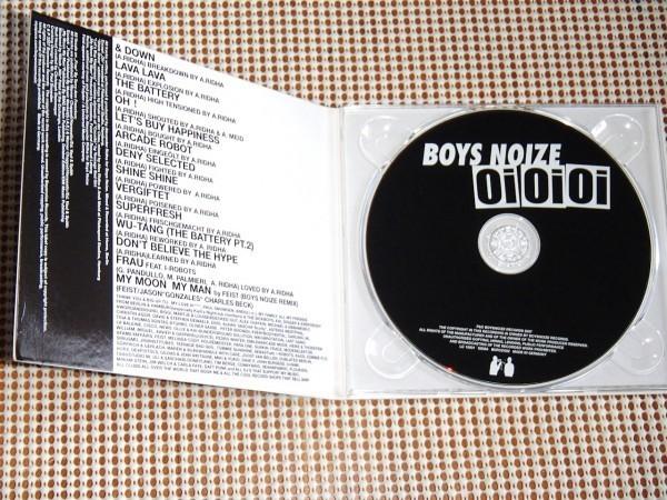 美盤 廃盤 Boys Noize ボーイズ ノイズ Oi Oi Oi / ドイツ発 エレクトロ 大名盤 / Feist のREMIX曲収録 / Einzeller 909d1sco 変名