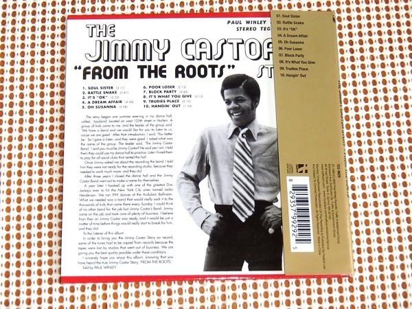 廃盤 中古美品 紙ジャケ The Jimmy Castor Story From The Roots ジミーキャスター / PAUL WINLEY / ノーザン好きにもオススメ ソウル名作
