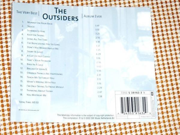 廃盤 The Very Best The Outsiders Album Ever アウトサイダーズ / 坂本慎太郎 氏(ex: ゆらゆら帝国 )もfavorite公言 蘭 ガレージ 良ベスト