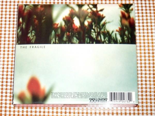 廃盤 中古美品 2CD Nine Inch Nails ( Trent Reznor ) ナイン インチ ネイルズ The Fragile フラジャイル / Steve Albini Alan Moulder