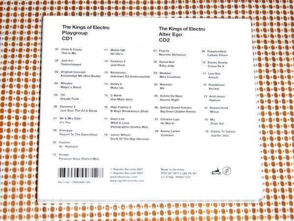 廃盤 2CD The Kings Of Electro Playgroup プレイグループ Alter Ego オルターエゴ/ Model500 Maurizio Dopplereffekt Plastikman 収録