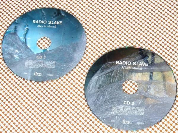 廃盤 2CD Radio Slave レディオ スレイヴ Misch Masch / REKIDS 主宰による強烈MIX+REMIX Trentemoller Shackleton Vince Watson Shed 等