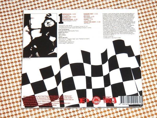 廃盤 The Ted Vining Trio テッド ヴィニング Number 1 /豪良質 JAZZ / JOHN COLTRANE Impressions Naima カヴァー収録 Brian Brown 参加_画像3