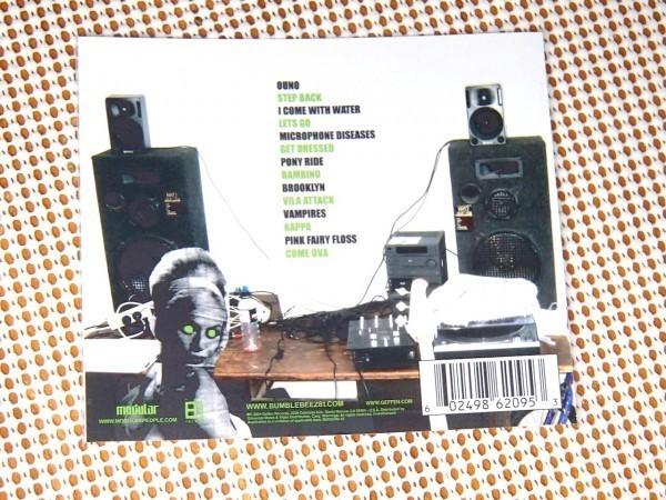 廃盤 Bumblebeez 81 バンブルビーズ The Printz (White Printz EP+ Red Printz)/ Modular /Karuna 在籍/豪 ローファイ HIPHOP BECK 好きに