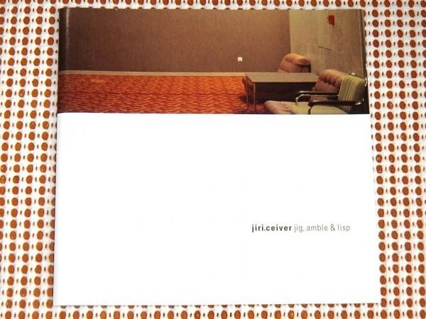 レア 廃盤 Jiri.Ceiver Jig Amble & Lisp / Harthouse ( Sven Vath や Hardfloor のレーベル ) / AFX級の孤高の天才名作 / jiri ceiver