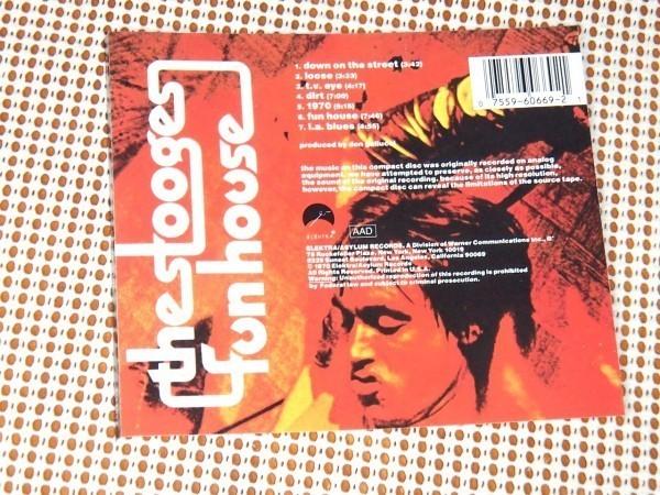 US初出廃盤 The Stooges ストゥージーズ Fun House / Iggy Pop イギー ポップ 傑作 Ron Asheton ( Destroy All Monsters ) Steven Mackay