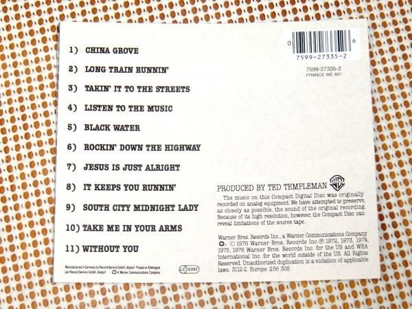 廃盤 The Doobie Brothers ドゥービー ブラザーズ Best Of The Doobies/China Grove Long Train Runnin 等11曲収録良ベスト Tom Johnston