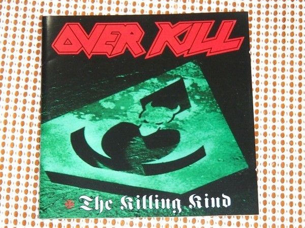 廃盤 Overkill オーバーキル The Killing Kind キリングカインド / スラッシュ 名作 / Annihilator Anvil Method Of Destruction 関連