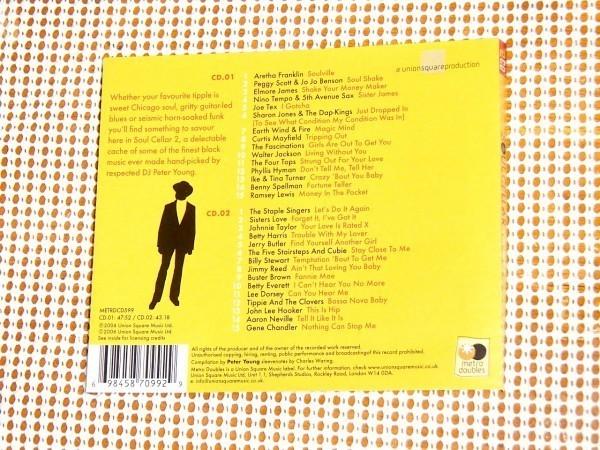 廃盤 2CD Peter Young Soul Cellar 2 A Superior Selection Of Funky Soul Favourites/UK名SOULDJ監修 Sisters Love Betty Everett 等