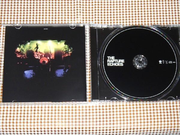 廃盤 The Rapture ラプチャー Echoes /NY DISCO PUNK 金字塔/The DFA ( James Murphy / LCD Soundsystem )+Tim Goldsworthy( UNKLE )製作