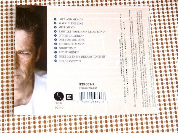 Brian Wilson ブライアン ウィルソン / Jay Migliori Jeff Lynne (ELO) Frank Marocco Tris Imboden (CHICAGO) Elliot Easton (CARS) 参加