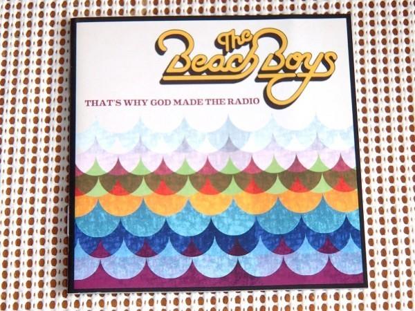 廃盤 The Beach Boys ビーチボーイズ That's Why God Made The Radio / デビュー 50周年 再結成 Brian Wilson Bruce Johnston Al Jardine