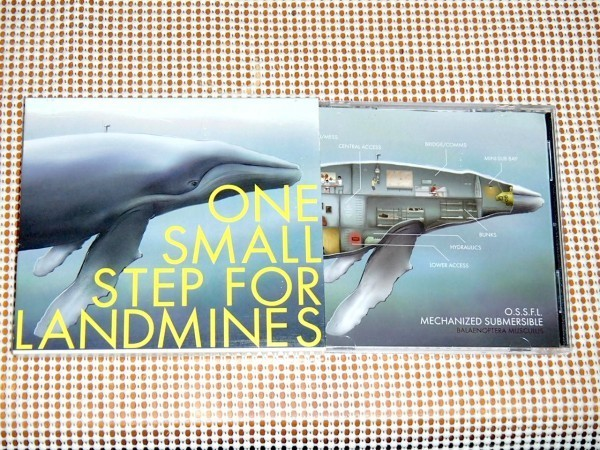 廃盤 One Small Step For Landmines ワンスモールステップフォーランドマインズ / Jim Ward ( At The Drive-In Sparta Sleepercar ) 参加