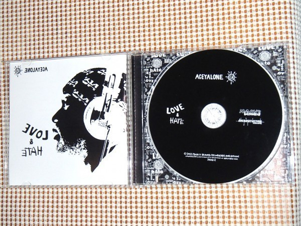Aceyalone エイシーアローン Love & Hate / RJD2 EL-P Abstract Rude Soul Of John Black Riddlore Sayyid ( Anti-Pop Consortium )参加
