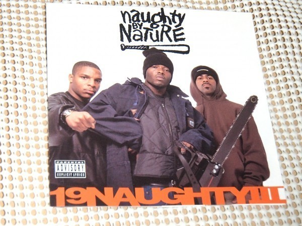 廃盤 US初出CD Naughty By Nature ノーティ バイ ネイチャー 19 Naughty III / Tommy Boy / Freddie Foxxx Queen Latifah Heavy D 参加