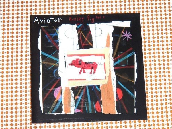 廃盤 Aviator アビエイター Huxley Pig Part 1 / Cast (UK BAND) メンバー ソロ 他メンバーや Paul ( Lightning Seeds The La's ) も参加