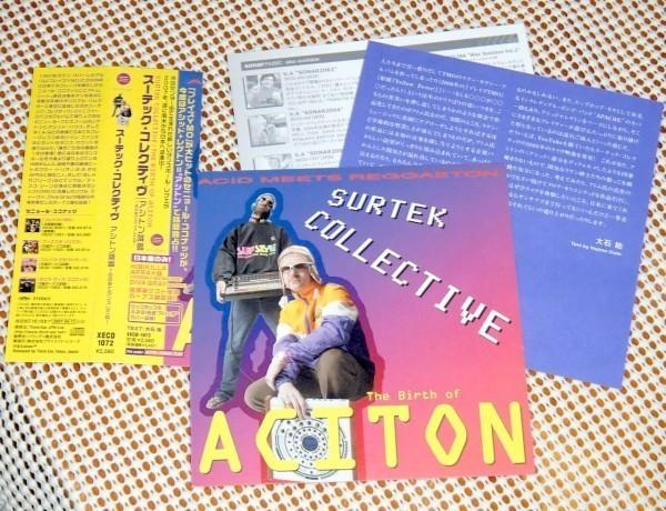 廃盤 Surtek Collective The Birth Of Aciton アシトン降臨 / ATOM HEART ( TM )+ Vicente Sanfuentes / 異形 アシッド + ダンスホール