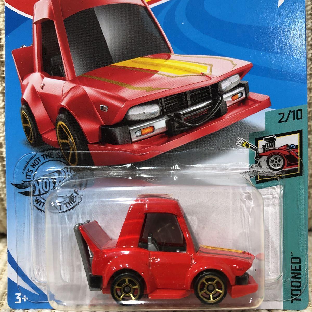 国内販売なし?! Hotwheels ホットウィール 2020 Dケース MANGA TUNER マンガチューナー ケンメリ 族車 暴走族 シャコタンブギ 街道レーサー
