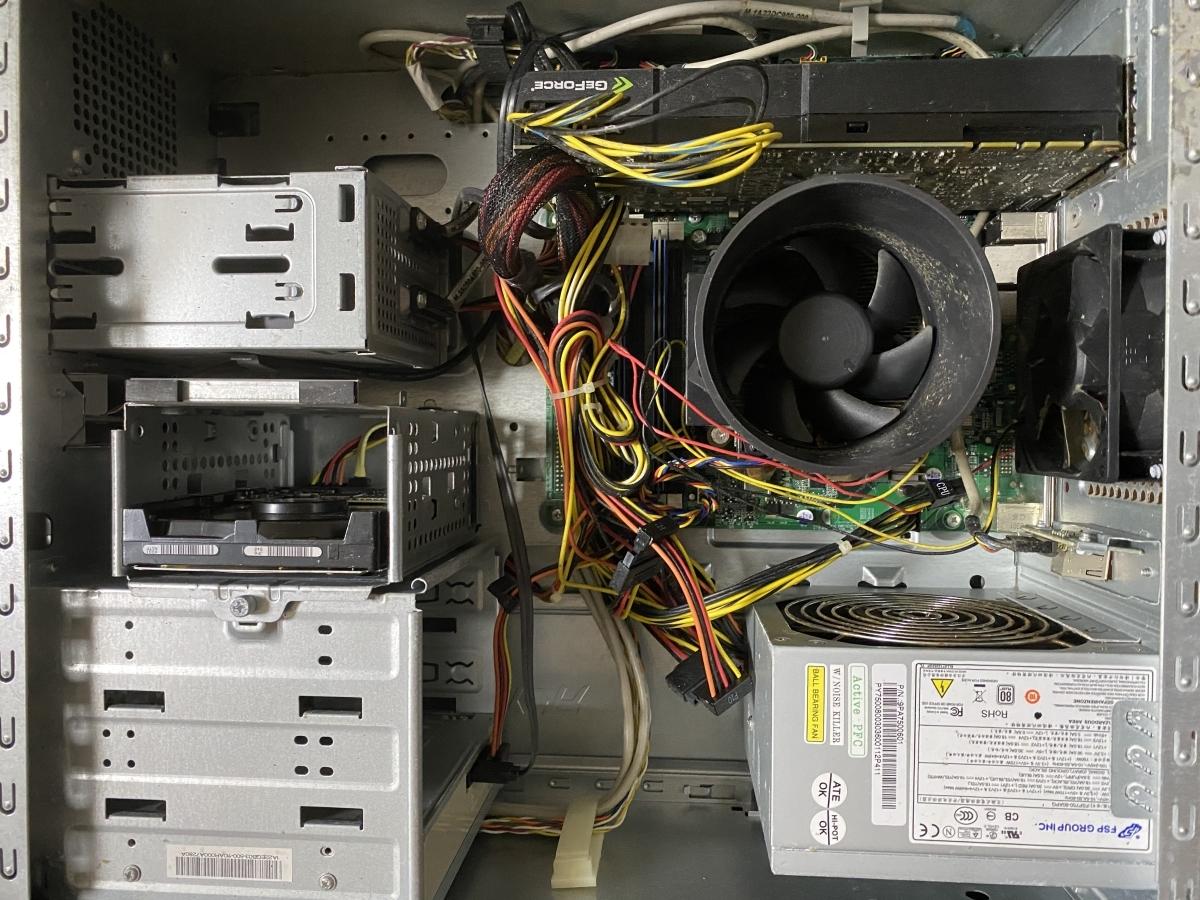 acer AG5900-N74F/GR PREDATOR Core i7 875K 2.93GHz 1TB 1TB 8GB デスクトップ パソコン ジャンク_画像6