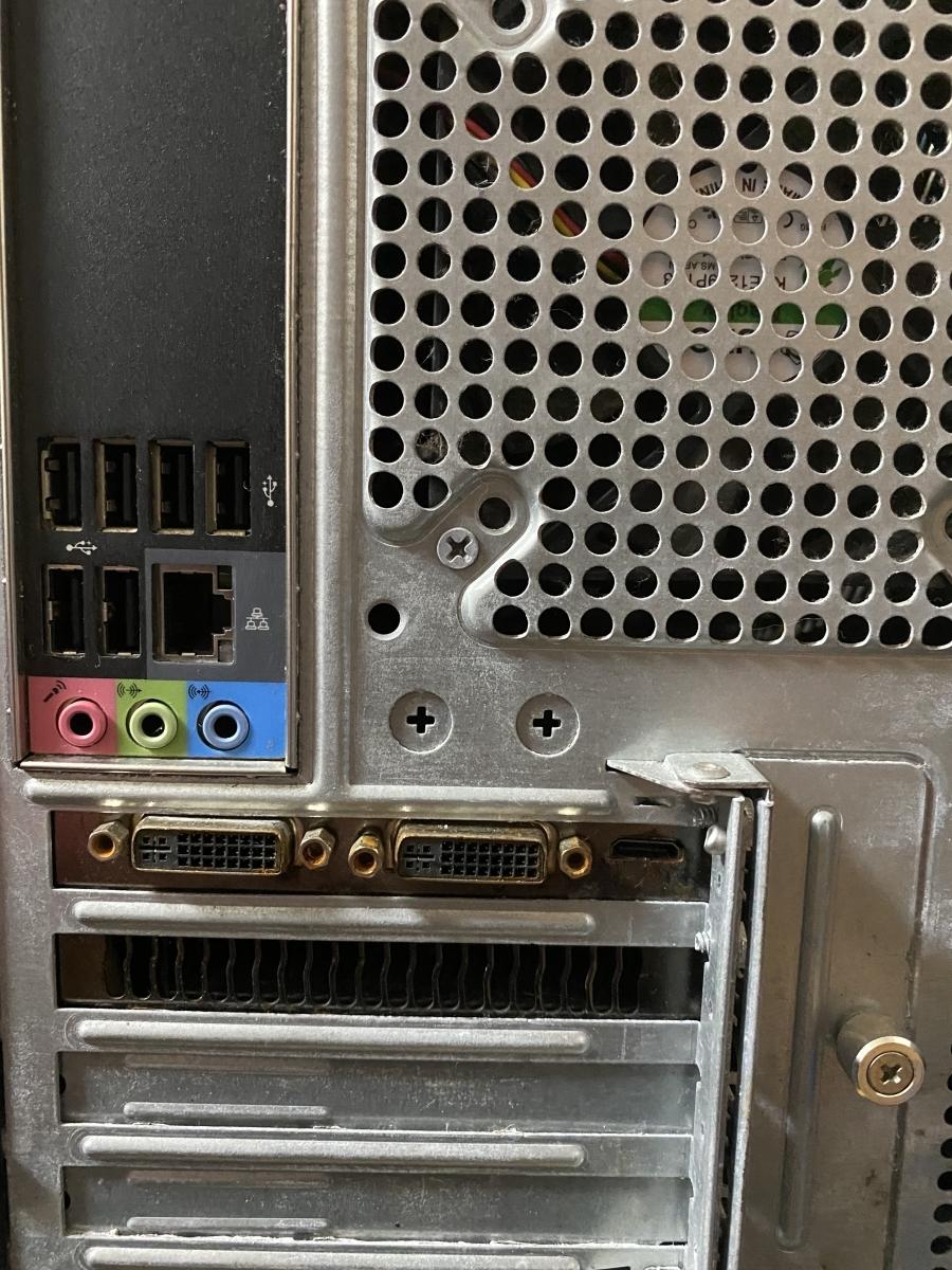 acer AG5900-N74F/GR PREDATOR Core i7 875K 2.93GHz 1TB 1TB 8GB デスクトップ パソコン ジャンク_画像8