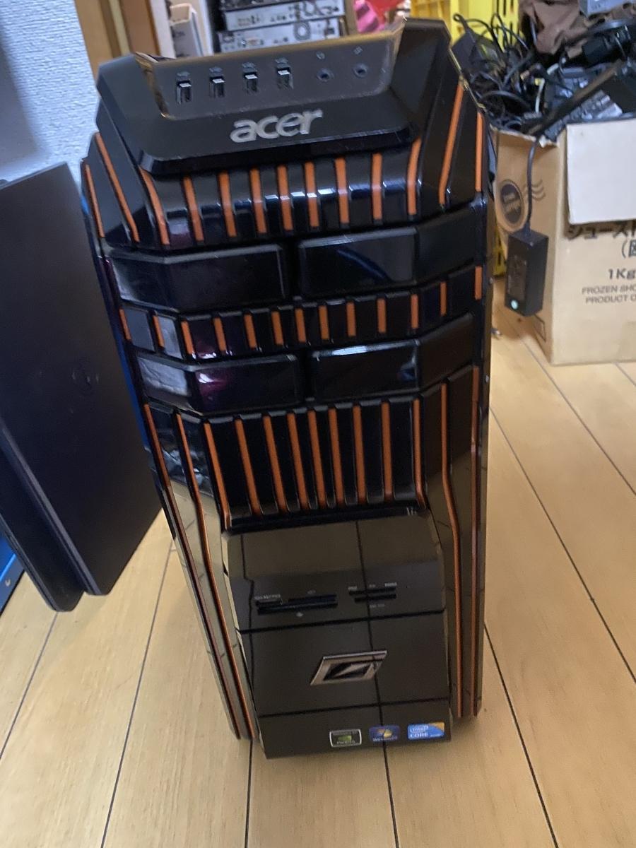 acer AG5900-N74F/GR PREDATOR Core i7 875K 2.93GHz 1TB 1TB 8GB デスクトップ パソコン ジャンク